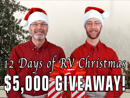 The 12 Days of RV Christmas Giveaway!