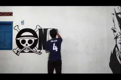 20+ Inspirasi Lukisan One Piece Di Tembok