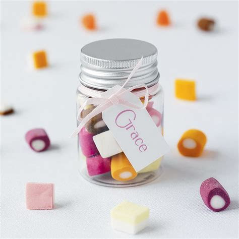 Dolly Mixture Favour Jar   Confetti.co.uk