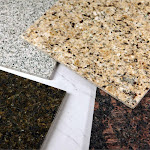 Sample of Instant Granite - all colors!