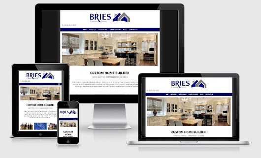 Virtual Vision recently launched a new website for Bries Custom Homes
