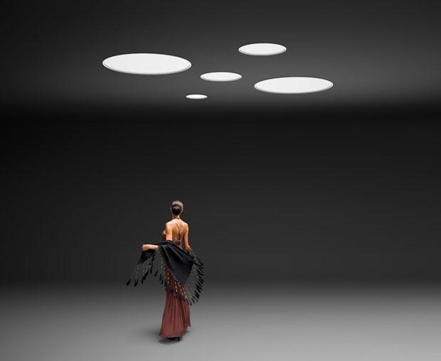 Lámpara de techo Big de Vibia, decoracion, interiores, iluminacion