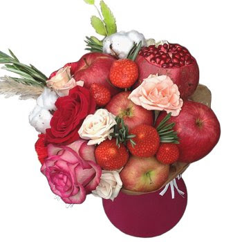 Why Fruit Vegetable Bouquets Are Better Than Flowers Russian Flora Blog