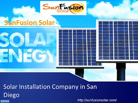 Solar Installation Company and Service Provider in San Diego