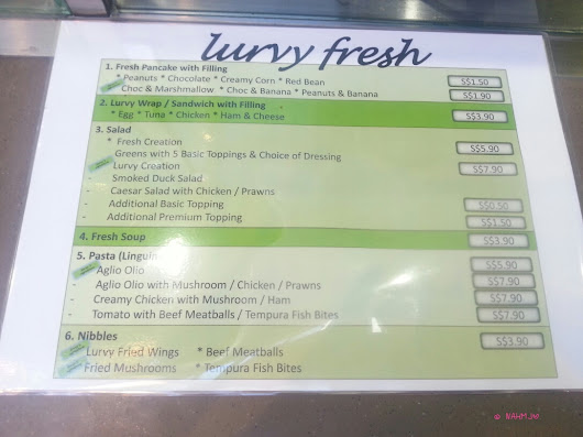 Lurvy Fresh At Lau Pa Sat, Sweet Yummy Salad