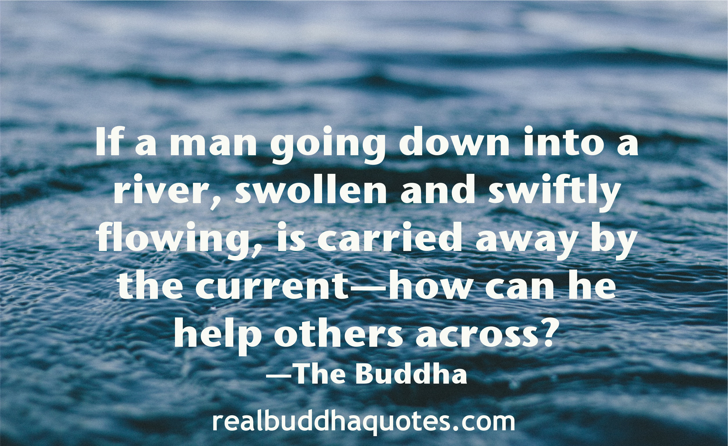 Self Reliance Real Buddha Quotes