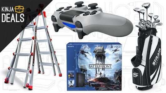 Sunday's Best Deals: Little Giant Ladders, B2G1 Video Games, and More