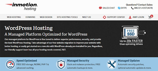 InMotion Debuts New Managed WordPress Hosting Plans | Web Hosting Cat