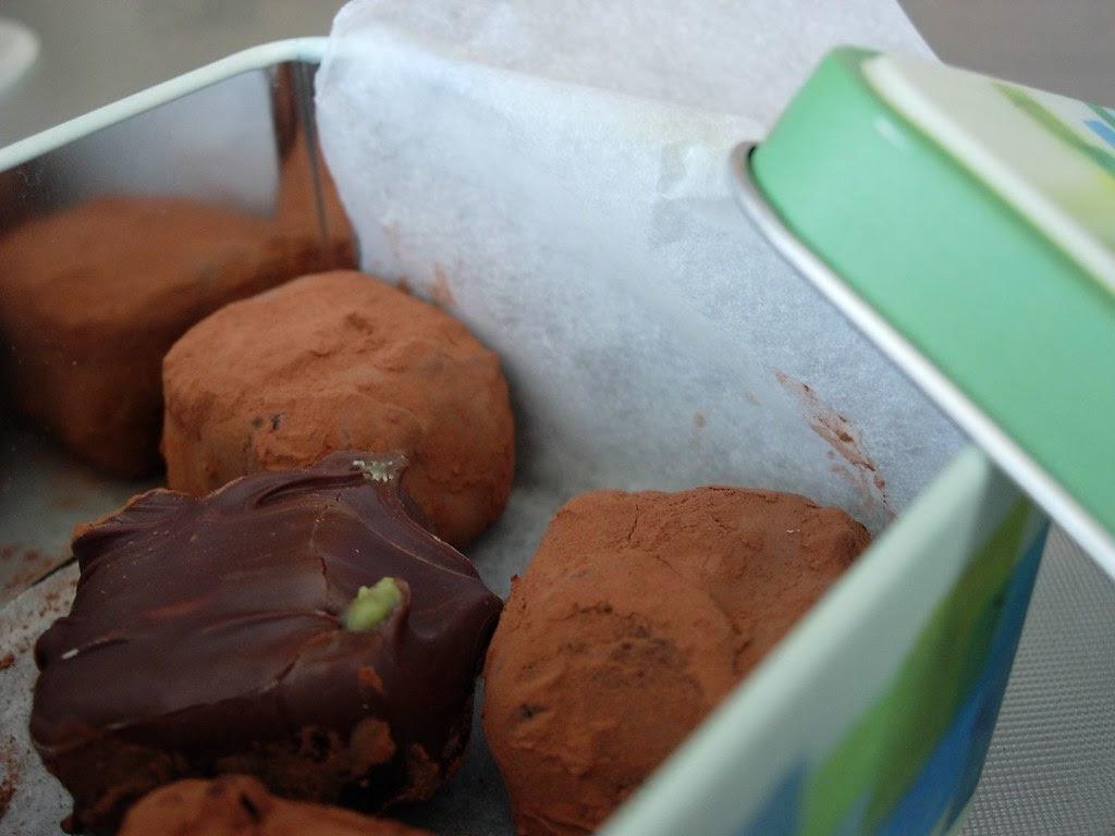 Truffles in a box