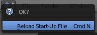 reload-start-up-file