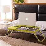 K&b Furniture Laptop Desk, Size: One size, Green