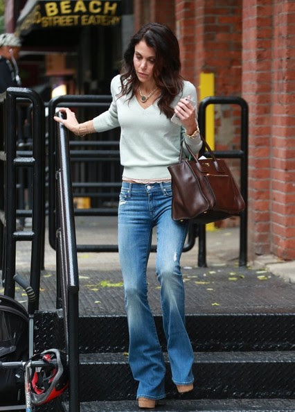 Reality star Bethenny Frankel spotted out and about in New York City, New York with her daughter Bryn on October 29, 2014. Bethenny turned heads when she announced that she would be making a return to 'The Real Housewives Of New York' for the upcoming season.