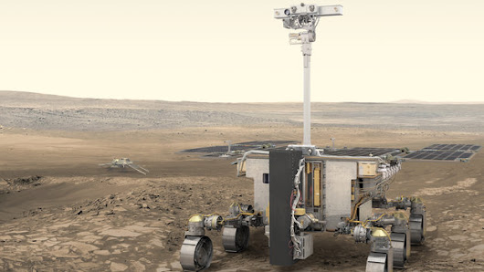 Name Europe's robot to roam and search for life on Mars