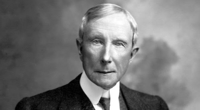 john d rockefeller biography summary