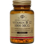 Solgar Vitamin B12 1000 Mcg Sublingual Cherry Flavor - 100 Nuggets