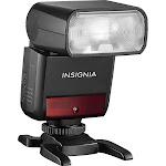 Insignia NS-DCF200C Hot-Shoe Flash - TTL - 36m - Black