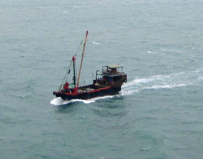 Chinese Workboat