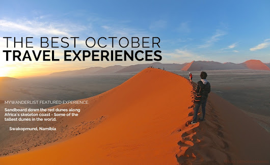 The Best October Travel Experiences