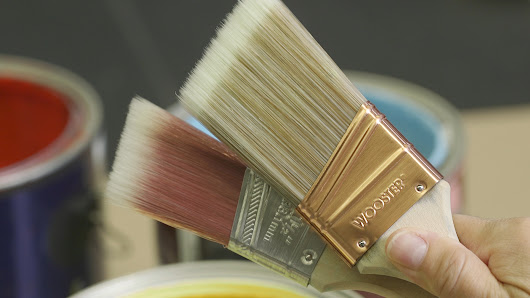 How to Pick a Paint Brush