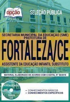 ASSISTENTE DA EDUCAÇÃO INFANTIL SUBSTITUTO