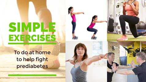 Simple Home Exercises to Help Fight Prediabetes