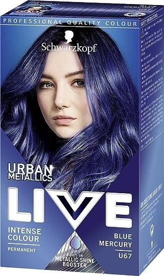 Live Electric Blue Hair Dye