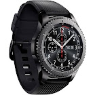 Samsung Men's Gear S3 Smart Watch - 46mm - Dark Gray Dial - Black Strap