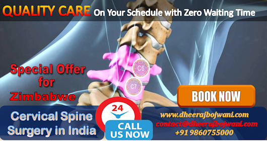 Minimal Cost Cervical Spine Surgery in India emerges as a Ray hope for Global Patients