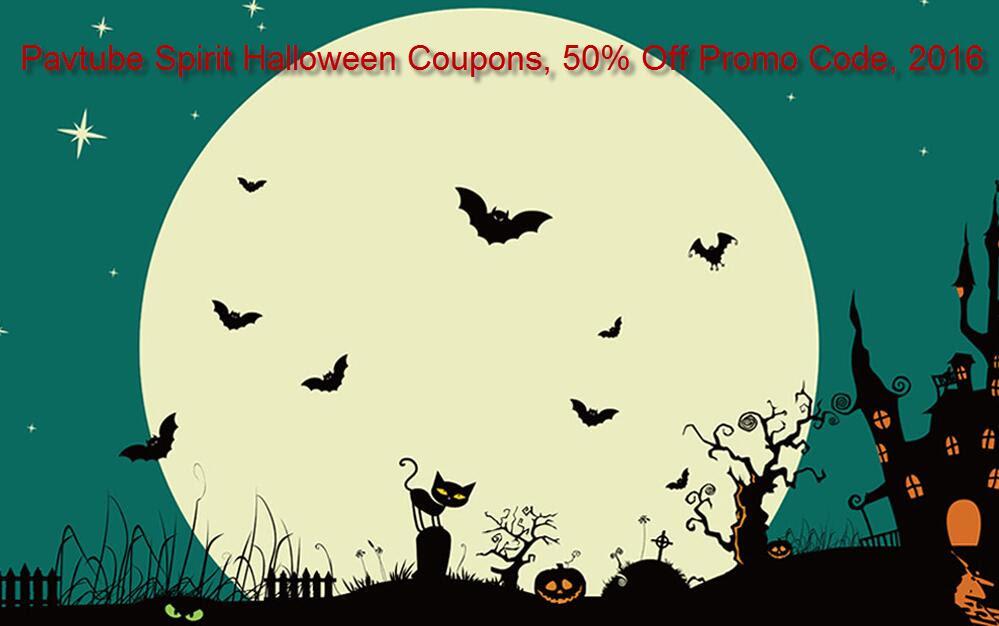 Pavtube 2016 Halloween Promotion