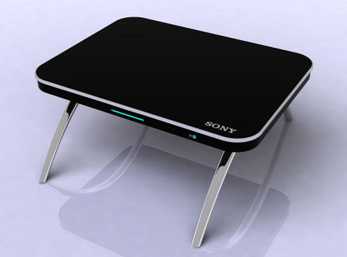 Coffee Table Computer Workstation Flaunts its Multi ...