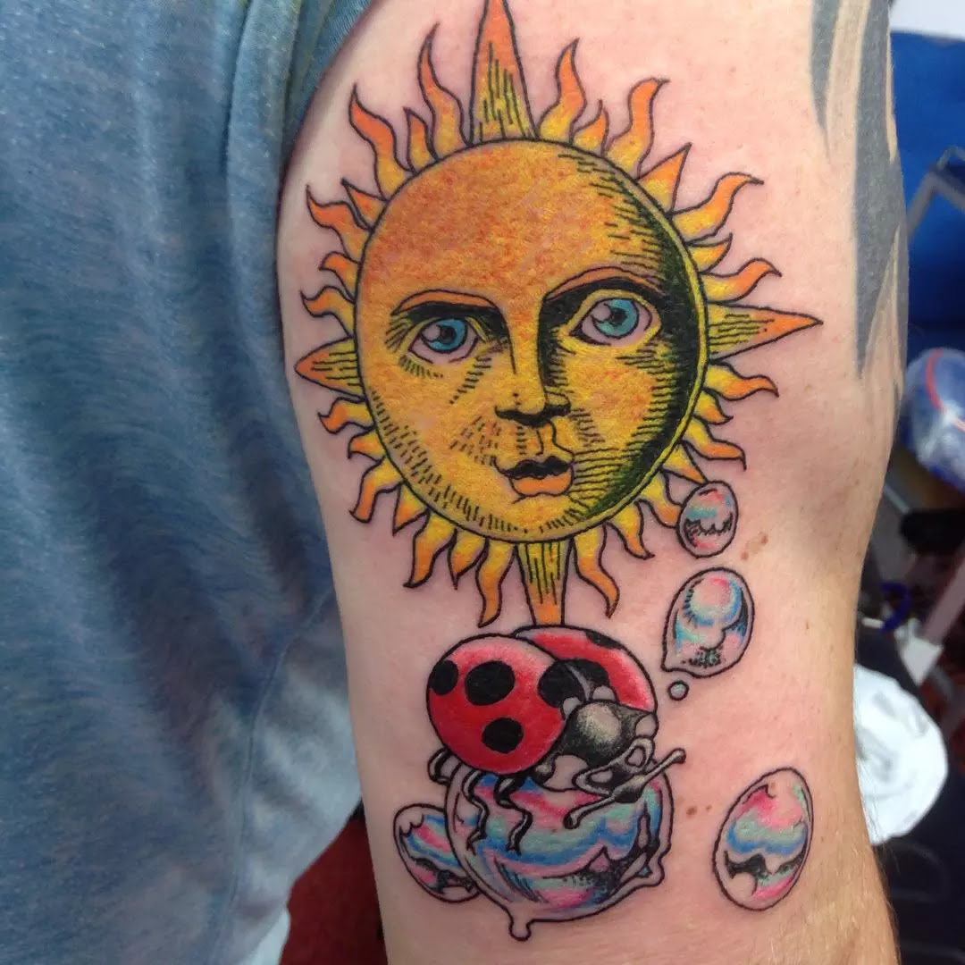 95+ Best Sun Tattoo Designs & Meanings - Symbol of The