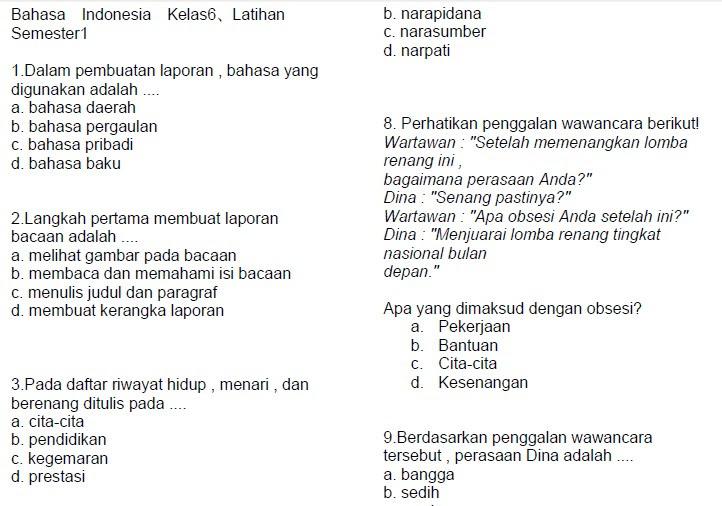 Contoh Soal Un Bahasa Indonesia Tentang Fakta Dan Opini James Horner Unofficial