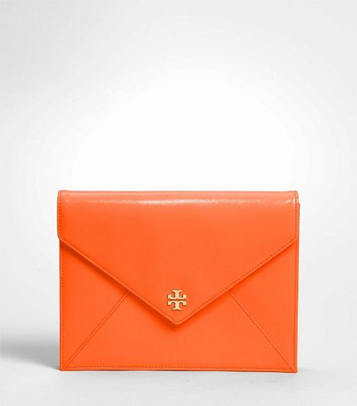 Tory Burch Patent Robinson Envelope Clutch