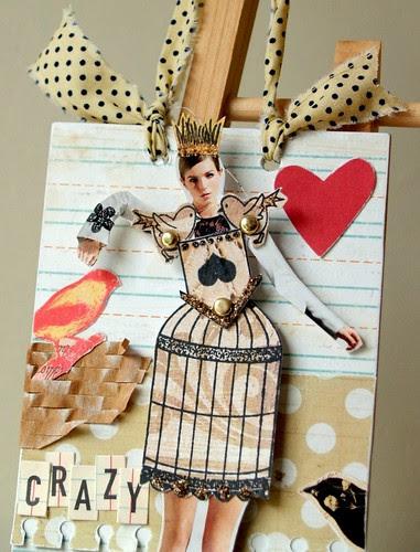 Crazy Bird Lady - Wall plaque