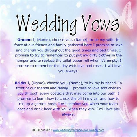 Pin by Maryann on Wedding vows   Modern wedding vows