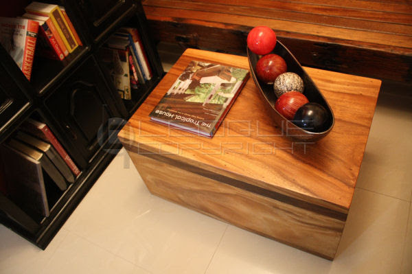 Coffee table with storage, big storage wooden chest, solid ...