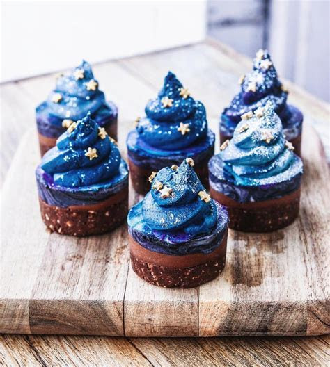 Double Chocolate Galaxy Cupcakes   Cupcakes Gallery