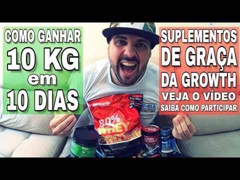 CASA MAROMBA LANÇA PROJETO DE COMO GANHAR 10 KG EM 10 DIAS COM SUPLEMENTOS DA GROWTH SUPPLEMENTS