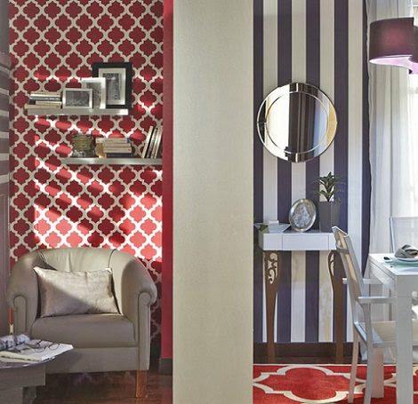 C mo decorar la casa papel pintado de leroy merlin - La casa del papel pintado ...
