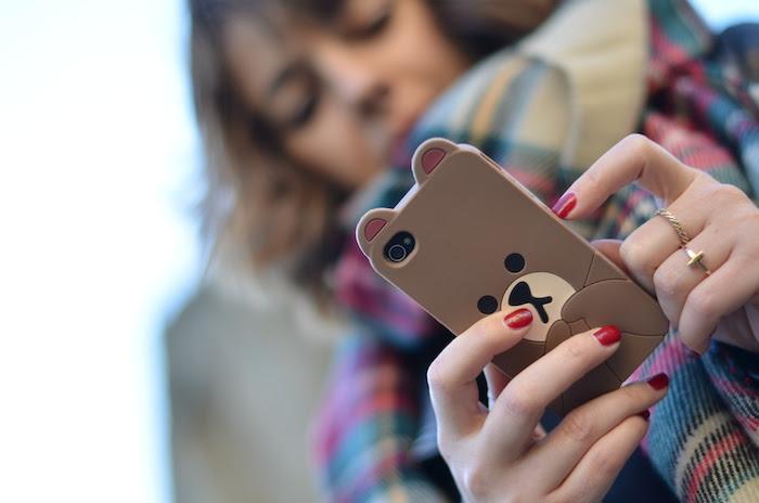 funda iphone oso