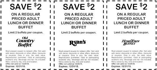 Old country buffet coupons december 2018