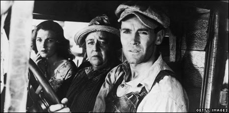 The Joads from the 1940 film Grapes of Wrath