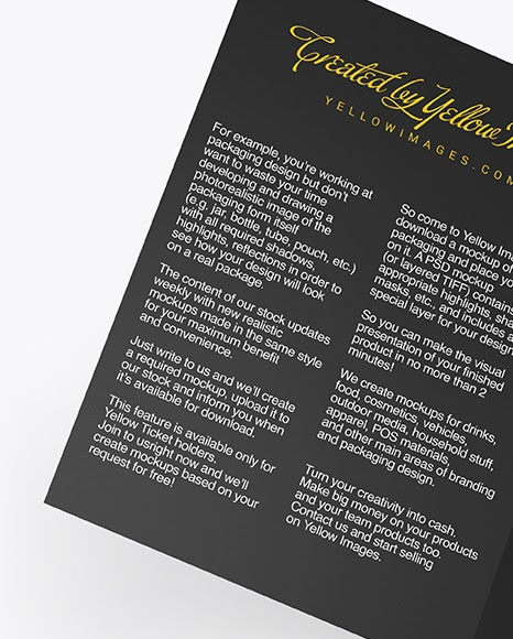 Download Download A4 Brochure Mockup Psd Free Download Psd A5 Brochure Mockup In Stationery Mockups On Yellow Images Object A Collection Of Free Premium Photoshop Smart Object Showcase M PSD Mockup Templates