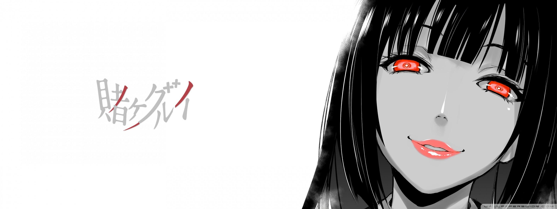 Kakegurui Yumeko Ultrawide 4K HD Desktop Wallpaper for 4K ...