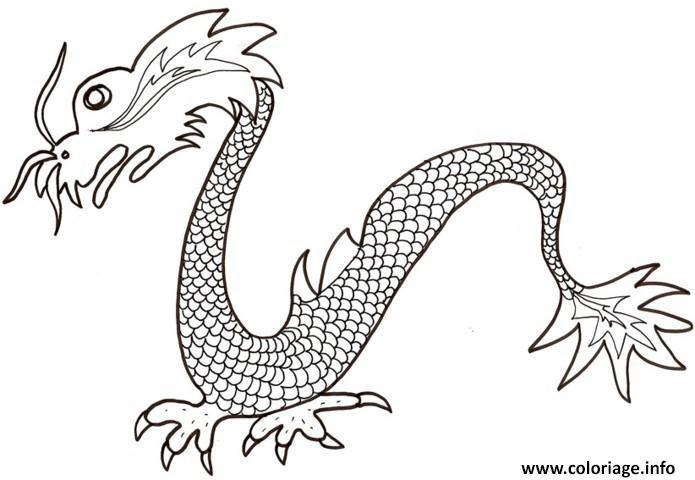 Dessin Tete De Dragon Chinois Facile Dessin Facile