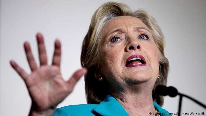 USA Hillary Clinton (picture alliance/AP Images/A. Harnik)