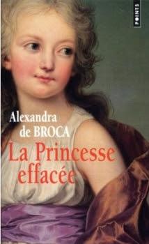Couverture La princesse effacée
