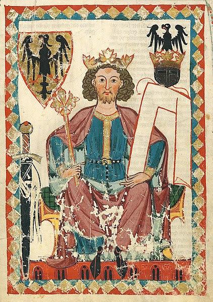 Archivo: Codex Manesse Heinrich VI.  (HRR). Jpg