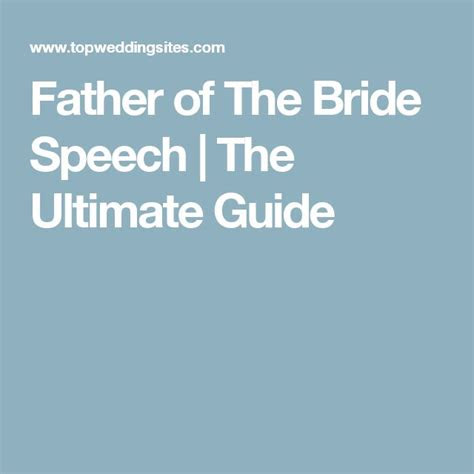 Step Father Speech At Daughter's Wedding