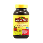 Nature Made Super Strength 450 Mg Extract, Cranberry Softgels - 60 Ea